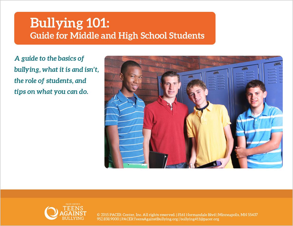 bullying 101 presentation